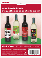 Christmas Wine Bottle Labels (4)